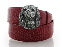 Cavalier King Charles Spaniel, Sterling Silver Buckle, Lyn Gaylord